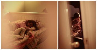 Bedtime peeking