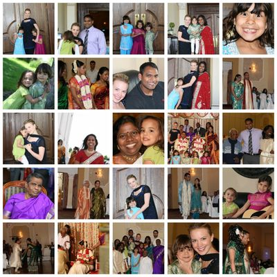 Maliyandi wedding collage