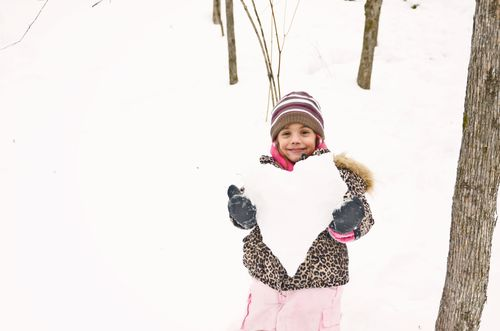 Manu's heart of snow