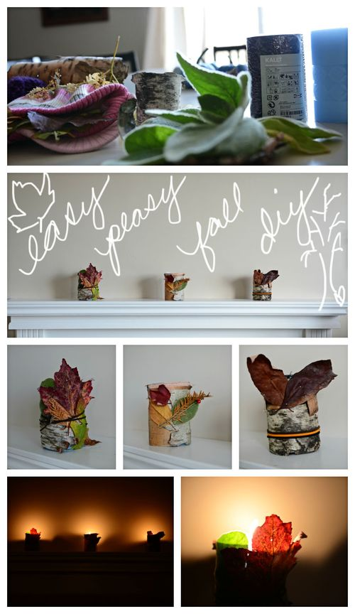 Fall diy collage for blog