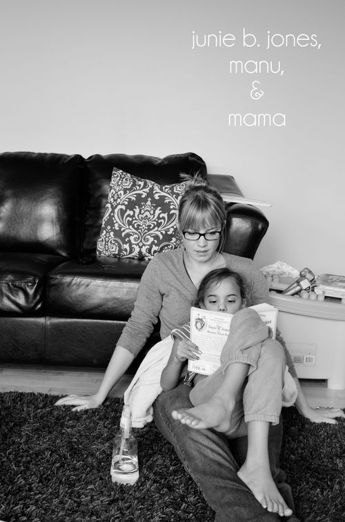 Junie b jones manu and mama
